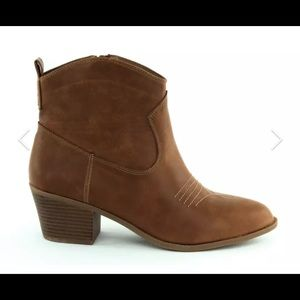NEW Style & Co Women's Manddy Bootie Boots Brown